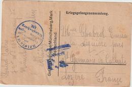 Ar RC, 137 : CPFM Prisonnier De Guerre Français Müncheberg 24/11/1917 - Guerre De 1914-18