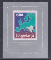 Yougoslavie BF N° 30 XX Conférence Des Ministres Des Pays Balkaniques, Le  Bloc Non Dentelé Sans Charnière, TB - Blocs-feuillets