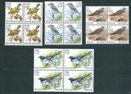 [STCK] Zegels 2985 - 2988 ** Postfris In Blok Van 4 - 1985-.. Pájaros (Buzin)