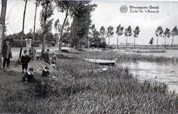 Overmeer-Donk Berlare Zicht In 't Broeck Animatie Verstuurd In 1933 Naar Berchem Antwerpen - Berlare