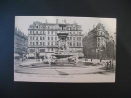 Carte Lyon - La  Fontaine De La Place Des Jacobins - Lyon 2