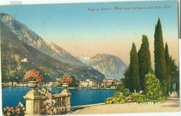Lago Di Garda; Riva Vista Dal Parco Dell' Hôtel Lido - Viaggiata. (L.F. - Riva) - Como