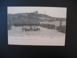 Carte Lyon - Ensemble De La Place Bellecour - Lyon 2