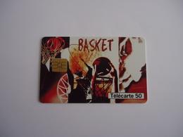 Télécarte  500 000 Ex Collection Street  Culture N°3 Basket - Sport