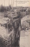 CARTE FRANÇAISE - GUERRE 14-18 - ALSACE - LINGE - LINGEKOPF - TRANCHÉES ALLEMANDES - Guerre 1914-18