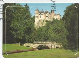 Modave. Château Des Comtes De Marchin. Château Vu Du Parc. - België