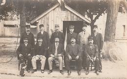 Carte Photo Sur La Mobilisation En 1914 - Aubigny Sur Nere