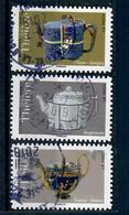De La Serie Theieres 1617-23 A 1628 CES 3 TIMBRES CACHETS RONDS  Description - Gebraucht