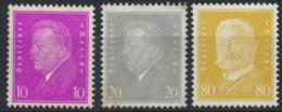 Deutsches Reich 435/37 ** Postfrisch 437 Altsignatur Peschl - Allemagne
