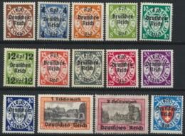 Deutsches Reich 716/28 ** Postfrisch - Deutschland