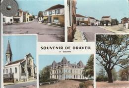 91 - Très Belle Carte Postale Semi Moderne Dentelée De  DRAVEIL  Multi Vues - Draveil