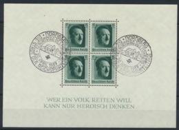 Deutsches Reich Block 7 O Sonderstempel Nürnberg - Deutschland