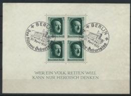 Deutsches Reich Block 7 O Sonderstempel Berlin - Duitsland