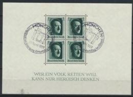 Deutsches Reich Block 7 O Kleiner Einriß Am Unterrand - Duitsland