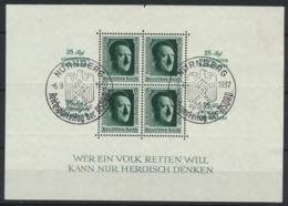 Deutsches Reich Block 11 O Sonderstempel Nürnberg - Duitsland