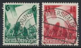 Deutsches Reich 632/33 O - Usados