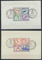 Deutsches Reich Block 5/6 O Sonderstempel Berlin - Duitsland