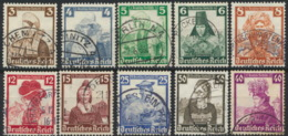 Deutsches Reich 588/97 O - Usados