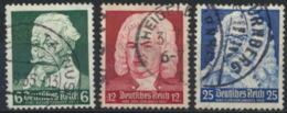 Deutsches Reich 573/75 O - Usados