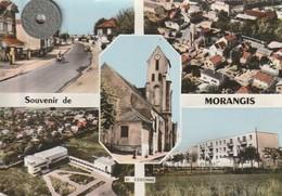 91 - Très Belle Carte Postale Semi Moderne Dentelée De  MORANGIS    Multi Vues - Other Municipalities