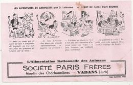 BUVARD - L'alimentation Rationnelle Des Animaux -SOCIETE PARIS Freres  MOULIN DES CHARBONNIERES . VADANS JURA - Animaux