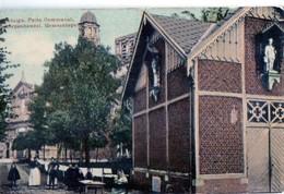Scherpenheuvel Zichem Gemeenteput Putte Communal In Kleur Verstuurd 1909 - Scherpenheuvel-Zichem