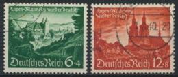 Deutsches Reich 748/49 O - Usados