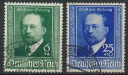 Deutsches Reich 760/61 O - Usados