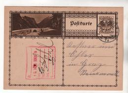 +3936, Österreich > Ganzsachen, Bildpostkarte, Flexenstraße - Entiers Postaux