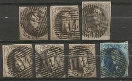 Belgique - Médaillons - Oblitérations P114 TERMONDE - Postmark Collection