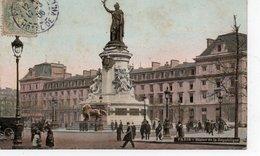 CPA PARIS - STATUE DE LA REPUBLIQUE - Statues