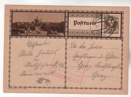 +3937, Österreich > Ganzsachen, Bildpostkarte, Wien - Entiers Postaux