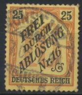 Deutsches Reich Dienst 14 O - Dienstzegels