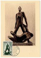Carte Maximum 1964 - XXe Anniversaire De La Libération - Résistance - YT 1411 - Paris - Maximum Cards