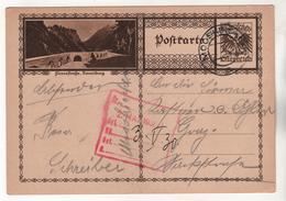 +3938, Österreich > Ganzsachen, Bildpostkarte, Flexenstraße - Entiers Postaux