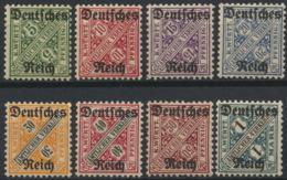 Deutsches Reich Dienst 57/64 ** Postfrisch - Dienstzegels
