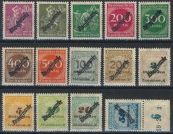 Deutsches Reich Dienst 75/88 ** Postfrisch - Servizio