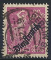 Deutsches Reich Dienst 75 O Gepr. Infla - Dienstzegels