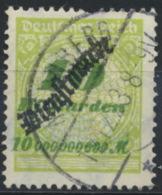 Deutsches Reich Dienst 86 O Stempel Nicht Prüfbar - Dienstzegels
