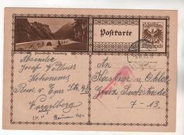 +3939, Österreich > Ganzsachen, Bildpostkarte, Flexenstraße - Entiers Postaux