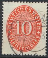 Deutsches Reich Dienst 119Y O Gepr. Schlegel BPP - Servizio
