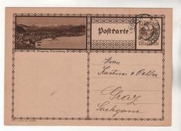 +3940, Österreich > Ganzsachen, Bildpostkarte, Bregenz - Entiers Postaux