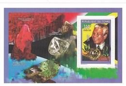 Tchad BF MNH 1997 Mendela Et Diamant - Tchad (1960-...)
