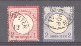 GRX 632  -  Allemagne  -  Reich  :  Mi  4-5  (o) - Gebruikt