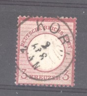 GRX 641  -  Allemagne  -  Reich  :  Mi  9  (o)    Obl. Korz - Germany