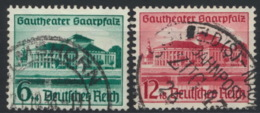 Deutsches Reich 673/74 O - Usados
