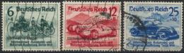 Deutsches Reich 695/97 O - Usados