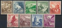 Deutsches Reich 675/83 O - Usados