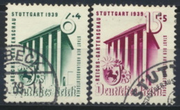 Deutsches Reich 692/93 O - Usados