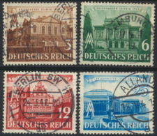Deutsches Reich 764/67 O - Usados